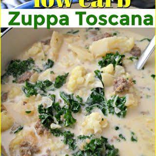 Low Carb Olive Garden Zuppa Toscana Soup #zuppatoscanasoup