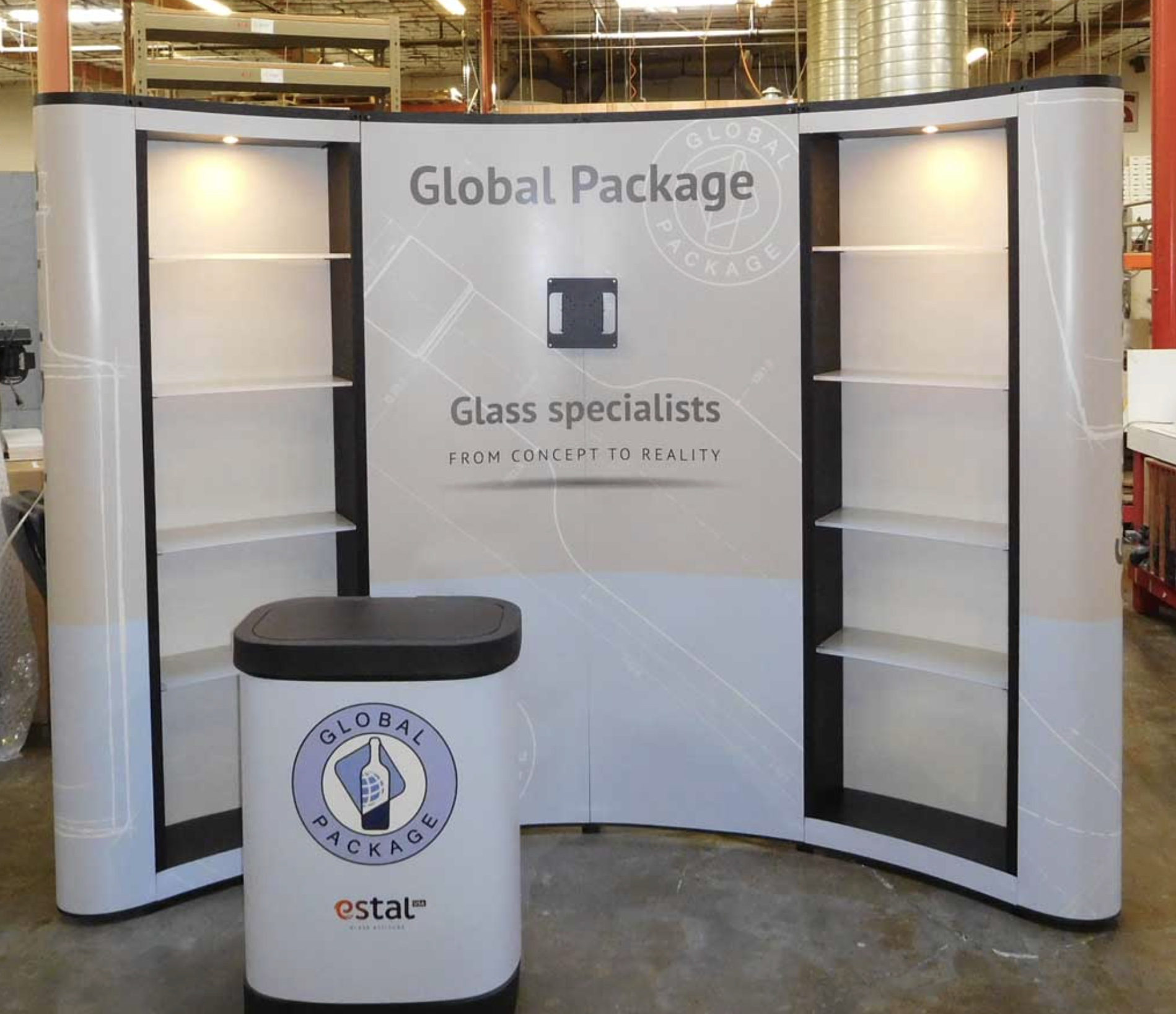 Exhibition Stand Shelves : Stone display units custom onyx table stand ceramic display