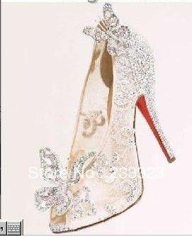Limited Cinderella Glass Slipper Sandals 5645b7b16b21