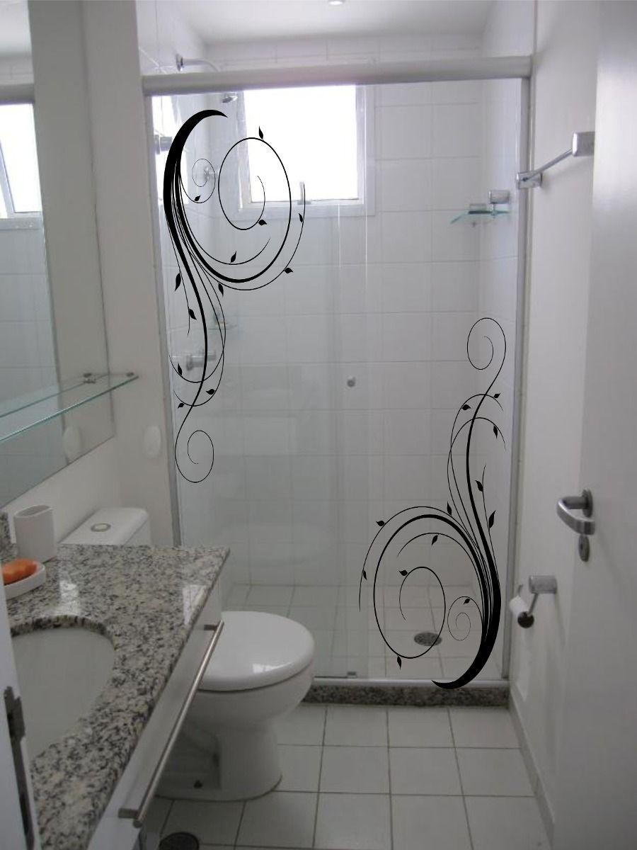 Adesivos Decorativos Box Blindex Espelho Vidro Banheiro Adesivos
