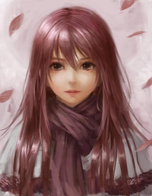 Cute Anime Girls On Twitter Semi Realism Anime Realistic Drawings