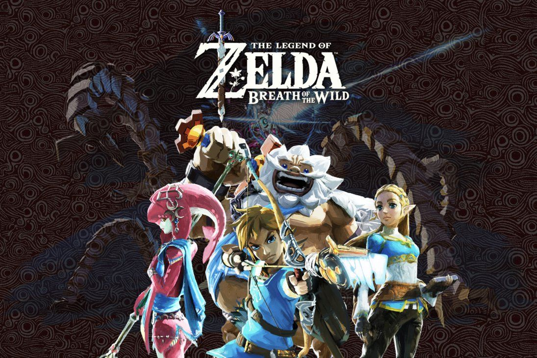 One More Wallpaper From Zelda Breath Of The Wild With Revali Zelda Breath Zelda Hyrule Warriors Legend Of Zelda