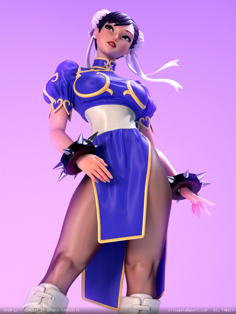 Artstation Chun Li Nil Tawata Street Fighter Characters Chun Li Street Fighter Fighter Girl