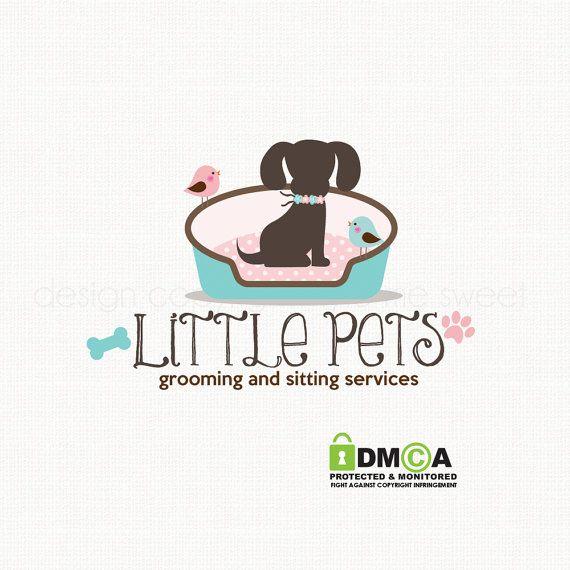 Dog Logo Pet Photography Logo Pet Hotel Logo By Stylemesweetdesign