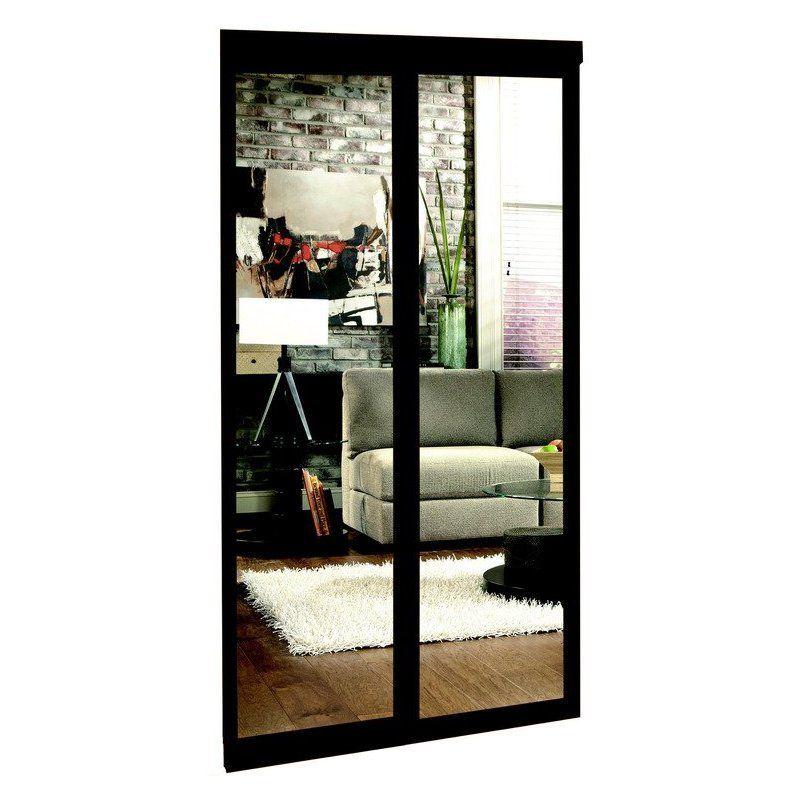 image mirror sliding closet doors inspired. Espresso Mirrored Sliding Closet Door | Lowe\u0027s Canada Image Mirror Doors Inspired C