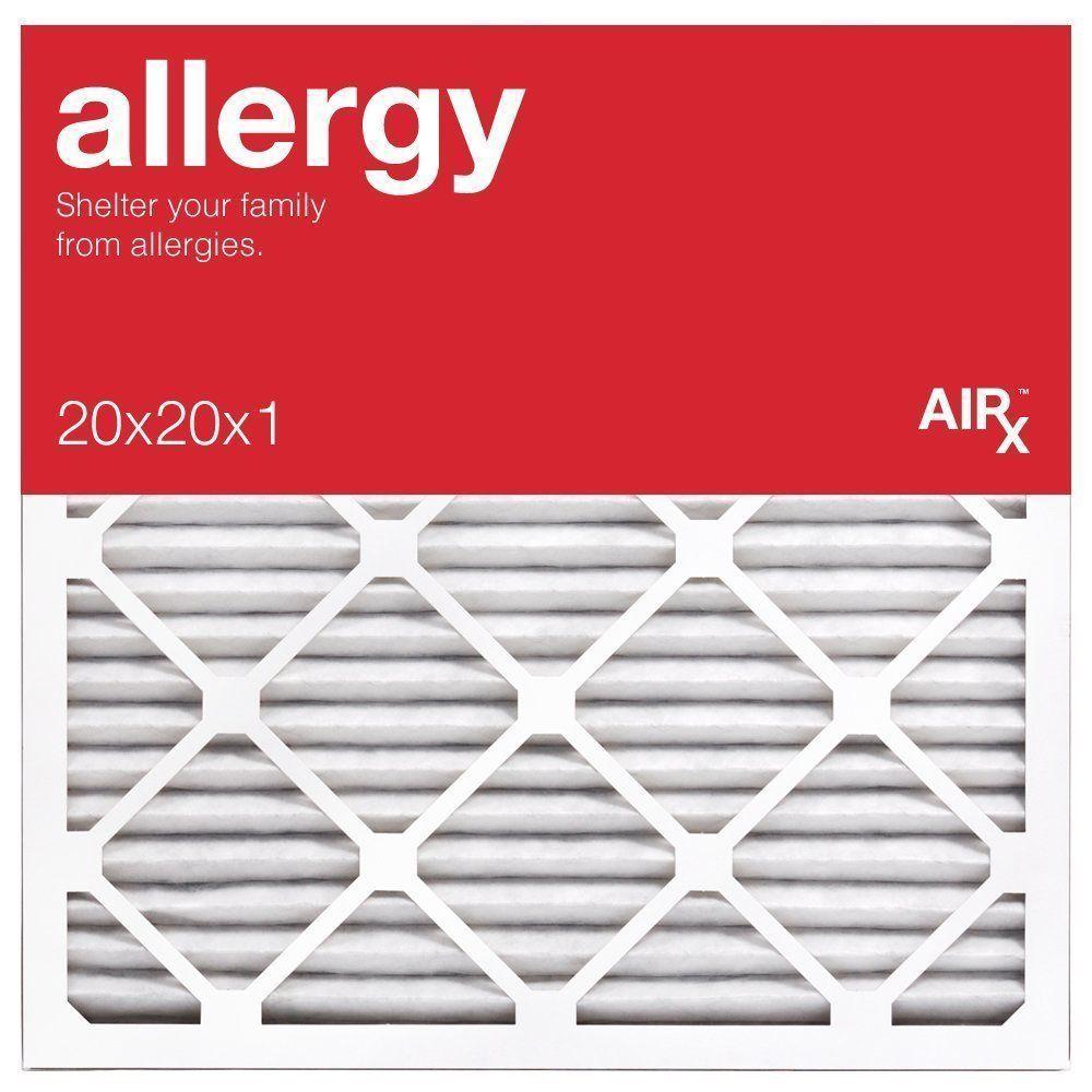 Airx allergy furnaceair filter 20x20x1 merv 11 box