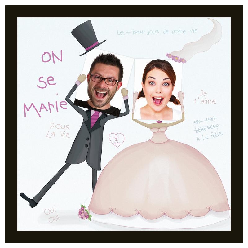 Faire Part De Mariage Humoristique Popcarte Faire Part Mariage Humoristique Faire Part Mariage Mariage Dessin