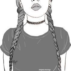 Resultado De Imagem Para Desenhos Tumblr Preto Branco