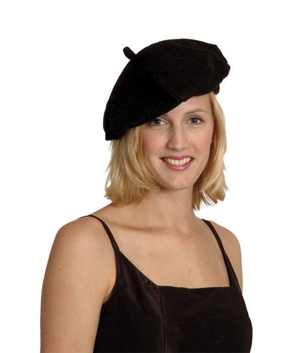 d526d7d9ee79c 3.94AUD - Adult Mens Ladies Black French Beret Mime Hat Cap Fancy Dress  Costume Accessory  ebay  Fashion