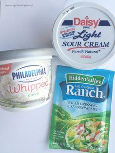 3 Ingredients Chip Dip Recipe Chip Dip Recipes Sour Cream Dip Cold Dip Recipes
