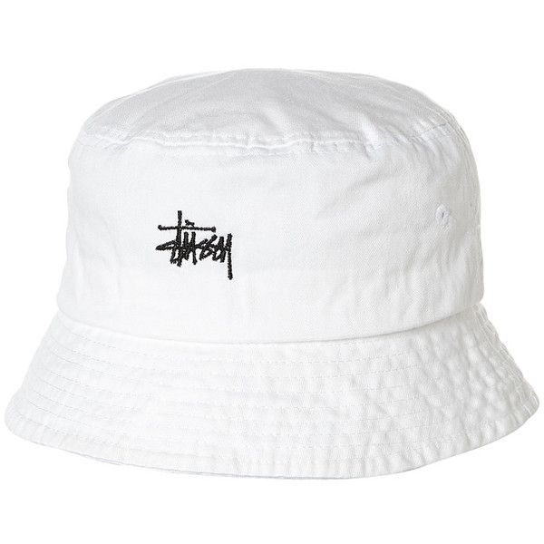 98481c8e Stussy Basic Washed Bucket Hat ($19) ❤ liked on Polyvore featuring men's  fashion, men's accessories, men's hats, accessories, bucket hats, mens hats,  ...