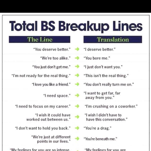 Hahaha, gotta luv break up lined