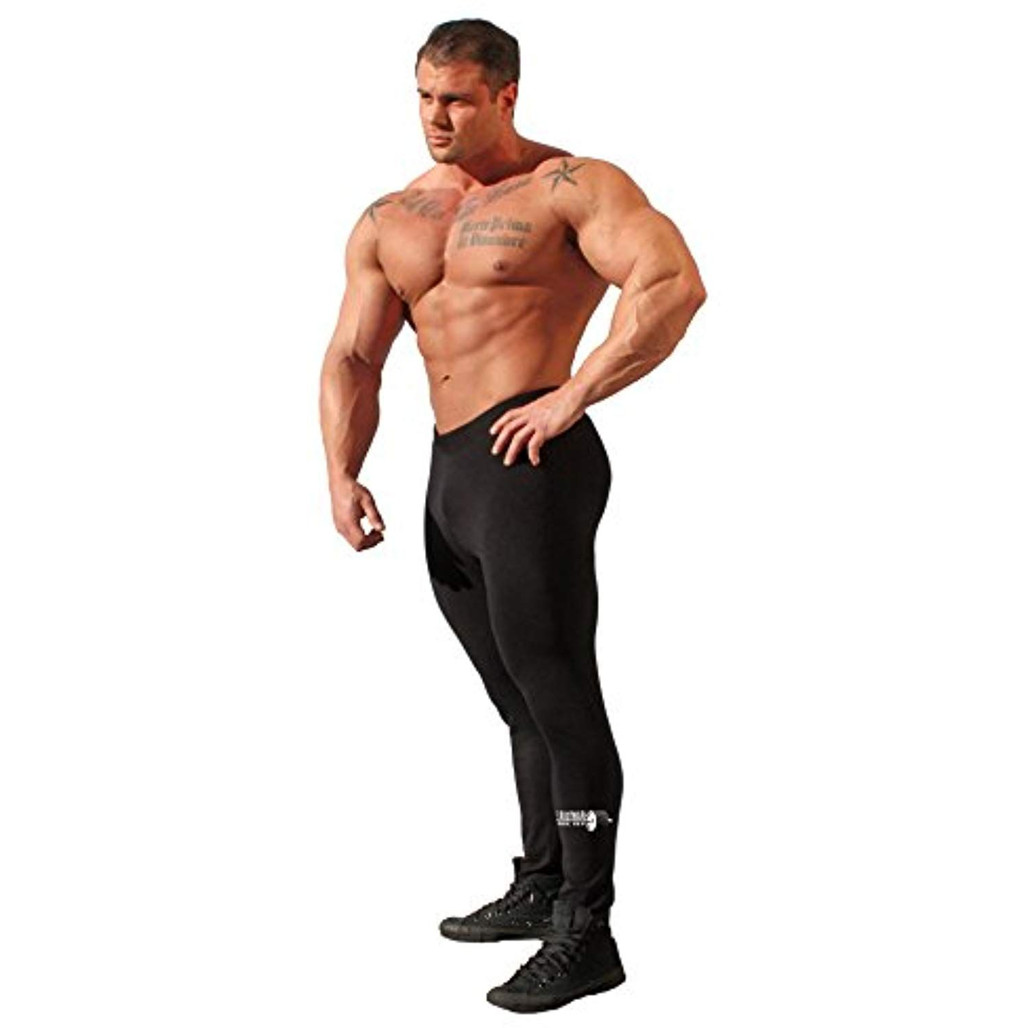 6716e478c7922 Physique Bodyware Men's Bodybuilding Leggings/Tights. Barbell Black. Made  In America. *** You can get additional details at the image link. (This is  an ...
