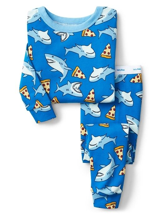 971447fd2930f Gap Baby Shark Pizza Pj Set Blue Streak | Products | Baby shark ...