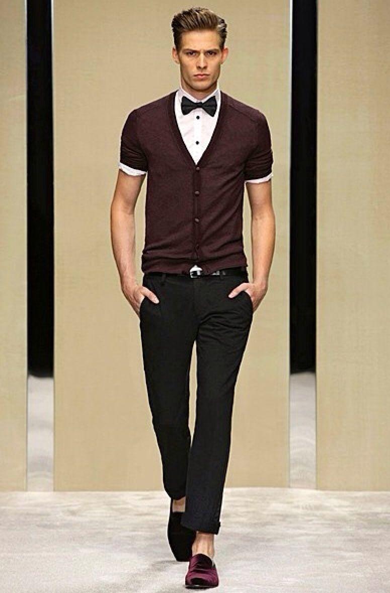 LDJ: Dois Looks Com Cardigan e Gravata | Style men