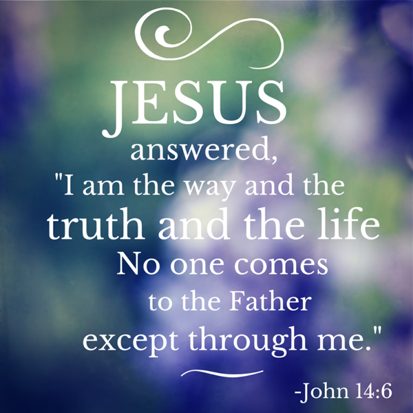 Amazing Jesus Answered, U201cI Am The Way And The Truth And The Life
