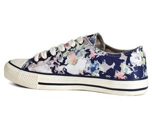 Buy Bright Floral Baseball Trainers