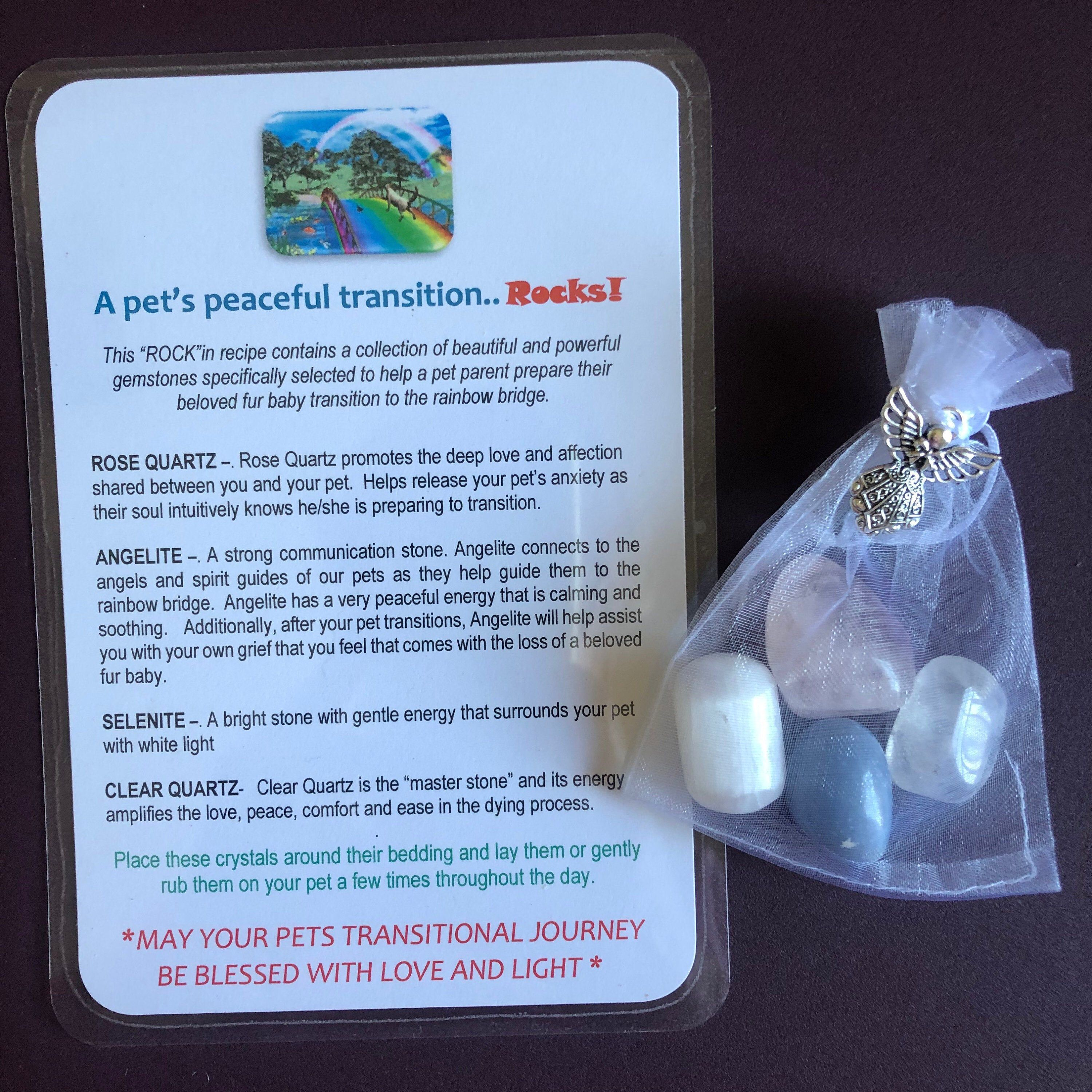 Baby Blessing Stones Healing Pouch