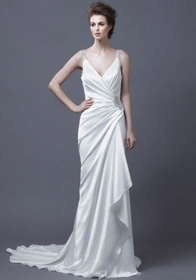 PHOTOS Look Like A Grecian Goddess On Your Big Day Bridesmaid DressesPleated