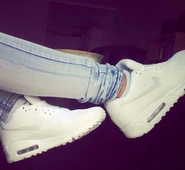 1db3db355c clearance shoes nike airmax nike airmax air white shoes trainers tumblr  white nike air max 17c34