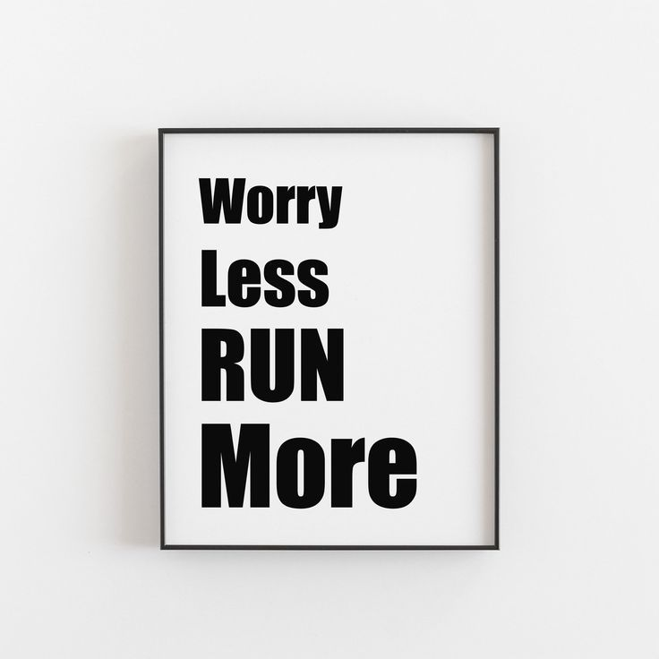 Running Gifts for Friends Printable Wall Art Digital Download Worry Less Run More Running Running Gifts for Friends Printable Wall Art Digital Download Worry Less Run Mor...