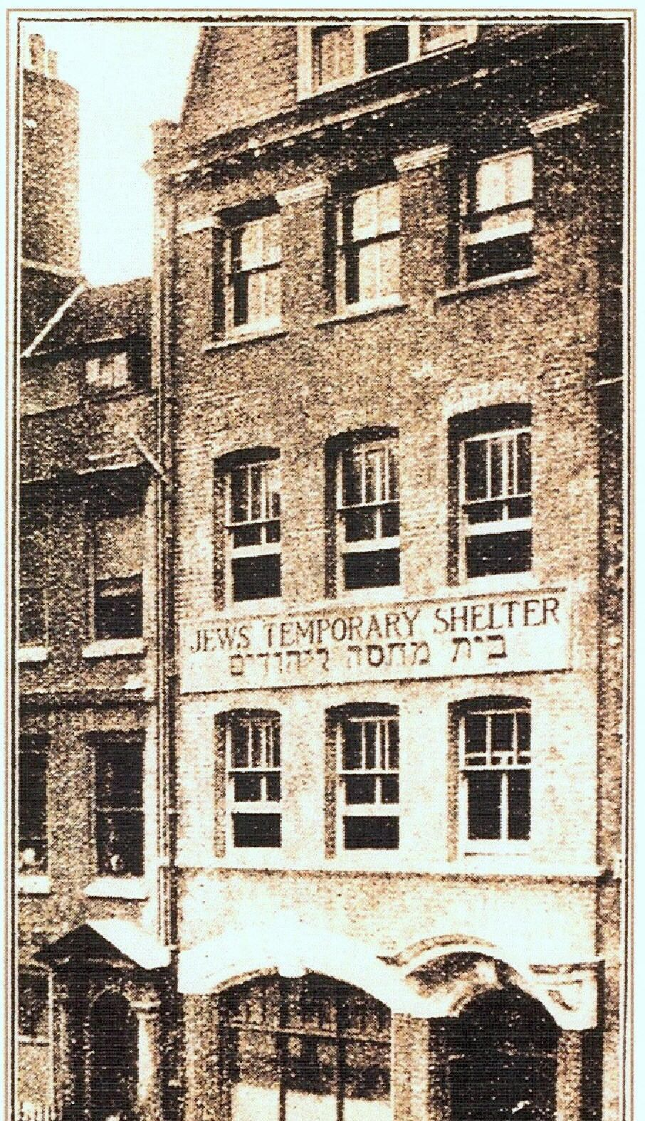 Jewish East End Of London Jews Temporary Shelter East End London London History Old London