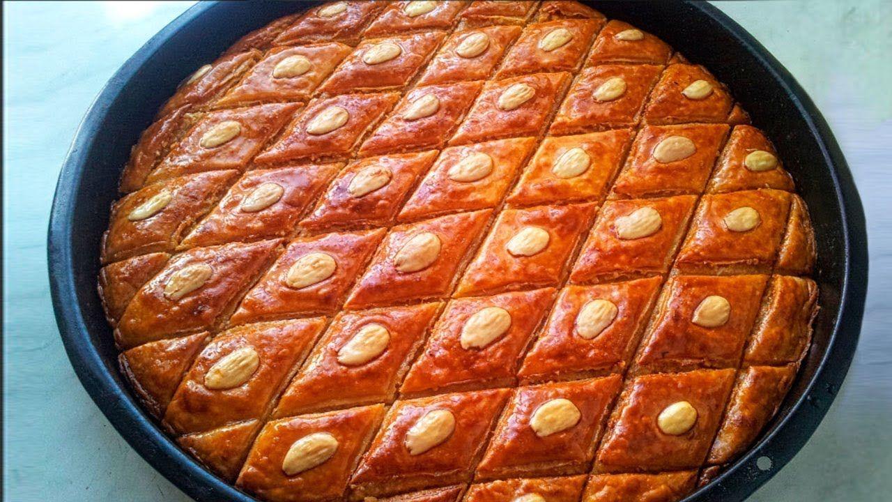 Paxlava Hazirlanmasi Milli Mətbəximiz Baklava Yapimi Food Desserts Breakfast