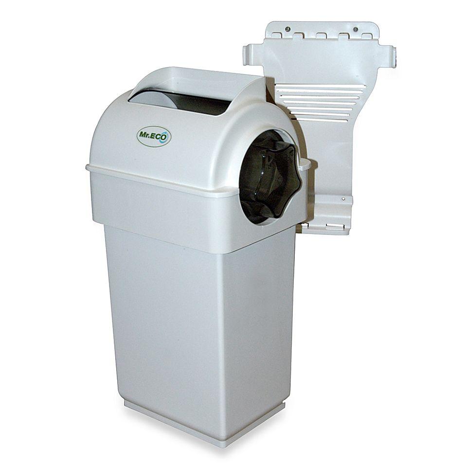 Exaco Trading Co Mr Eco Kitchen Composter W Hide Away Tumbler