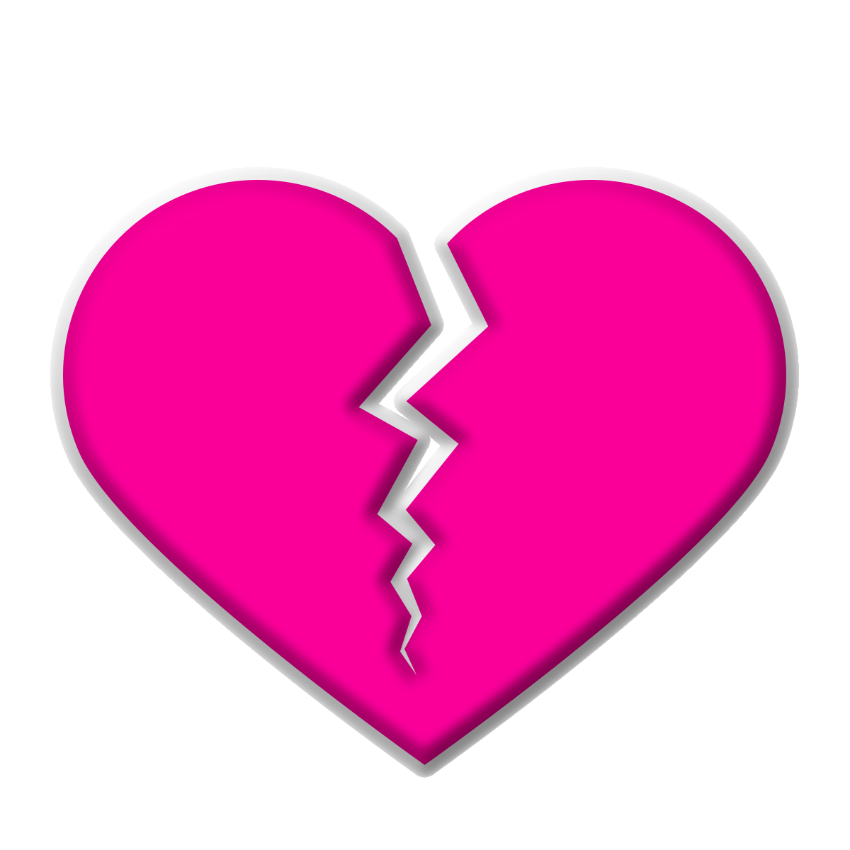 Free Download High Quality Lovely Pink Broken Heart Png Transparent Background Image This Is Vector Lovely 3d Pn Broken Heart Valentine Heart Background Images