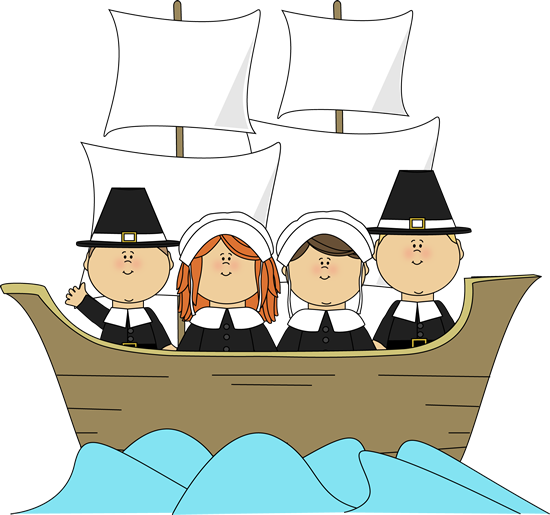 free children thanksgiving clip art pilgrims on the mayflower rh pinterest ch  thanksgiving indian clipart