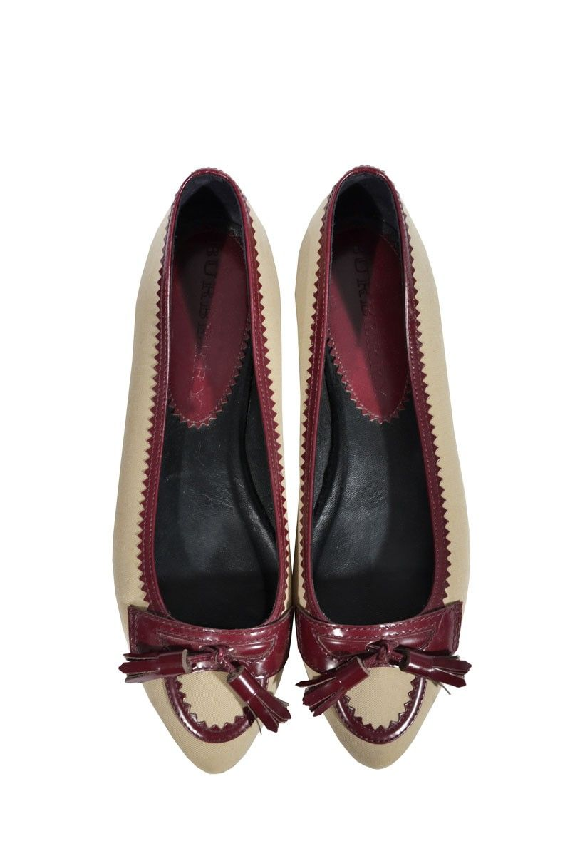 #burberry #shoes #accessories #ballerinas #designer #fashion #classy #onlineshop #secondhand #mymint