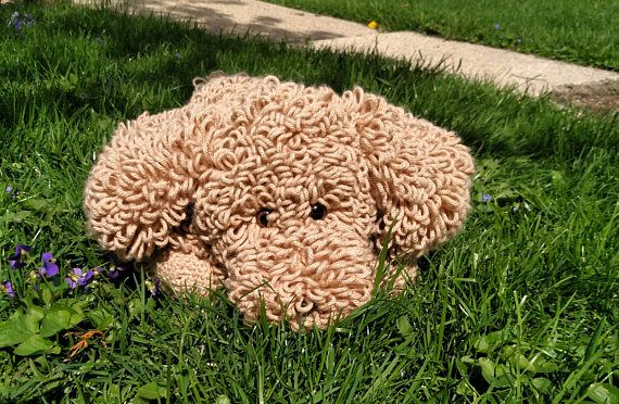 Golden Doodle stuffed animal