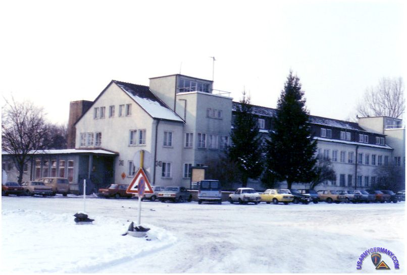 This Is Where I Worked In Schwabisch Hall  Germany  Headquarters Building  Dolan Barracks