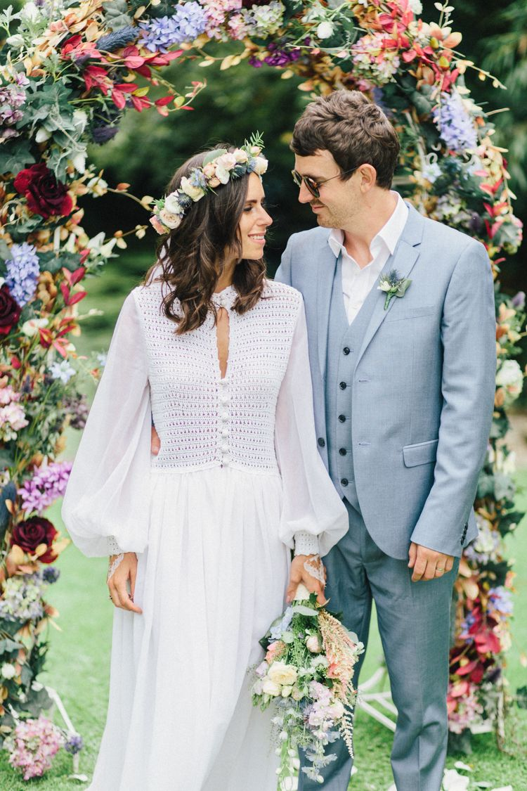 Retro s bohemian summer dream wedding bohemian summer wedding