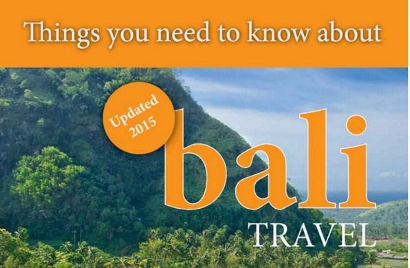 things you need to know about Bali travel