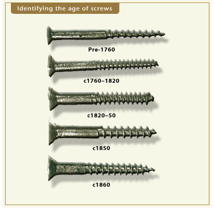 antique furniture screw types Authentic wood pegs are never round. They  should slightly stand up - Antique Furniture Screw Types Authentic Wood Pegs Are Never Round