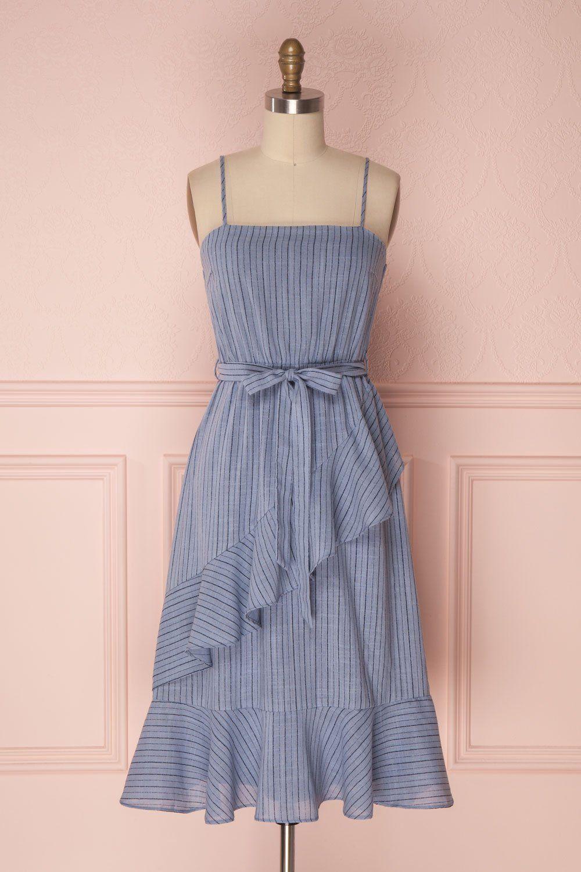 Kizzie Blue   Vestido elegante, Ropa casual y Elegante