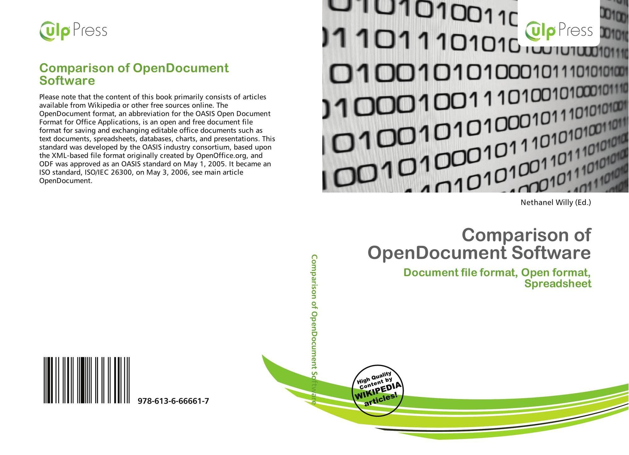 Open Document Spreadsheet In