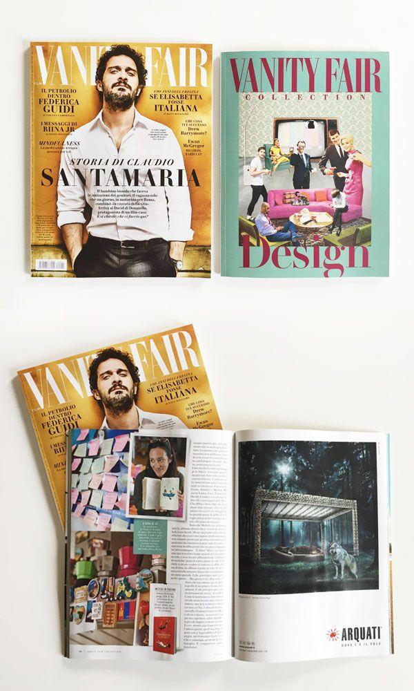 Campagna Stampa: Pergola Self, nel numero speciale di VANITY FAIR Collection design dedicato alla design week di Milano – Aprile 2016