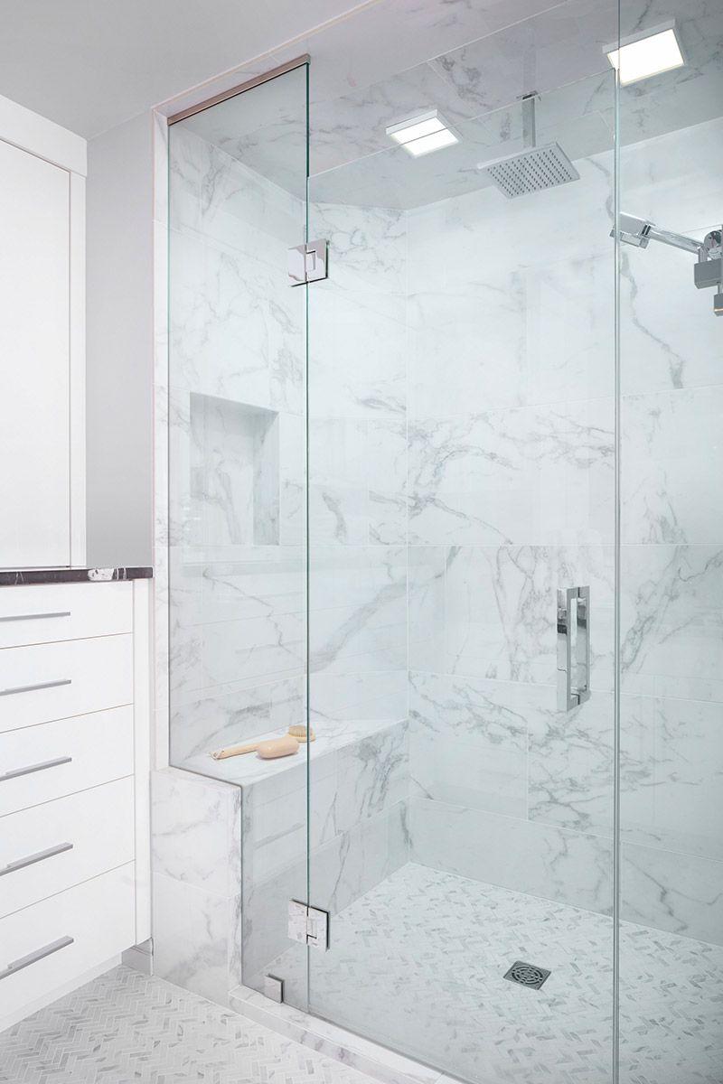 Lynn Donaldson & Associates // Shower Tile // Large Shower // Rain ...