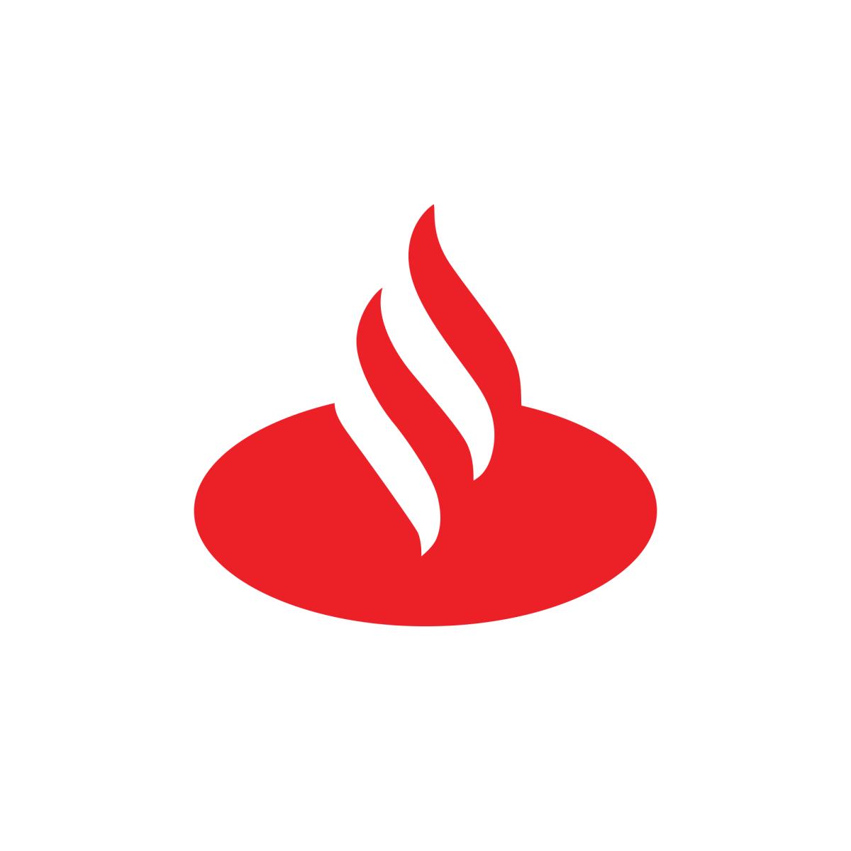 Santander Logo Spain Letter Logo Letter S Lettering