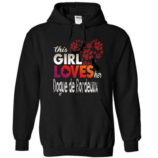 DOGUE DE BORDEAUX T Shirts, Hoodies. Get it now ==► https://www.sunfrog.com/Pets/DOGUE-DE-BORDEAUX-8394-Black-12460850-Hoodie.html?41382