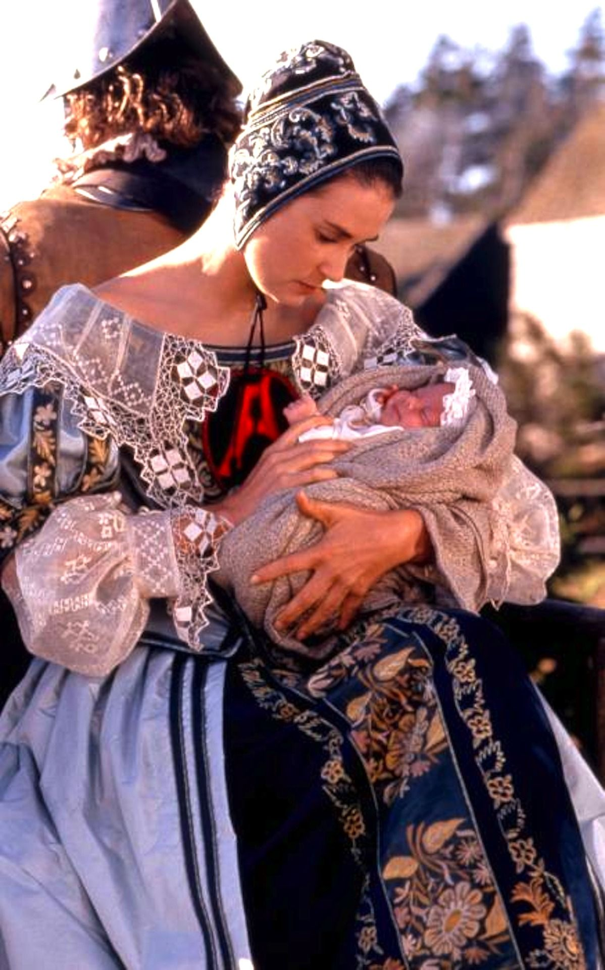 Mademoisellelapiquante Demi Moore As Hester Prynne In The