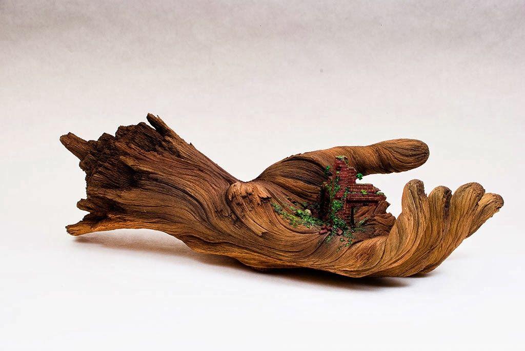 El Arte Con Madera Que No Es Madera De Christopher David White Escultura En Madera Esculturas Esculturas De Manos