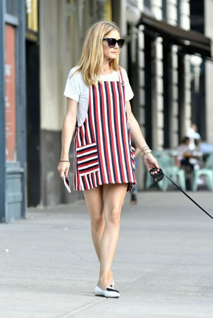 21d5b68e036 Comment s habiller demain robe campagne chic Olivia Palermo robe salopette