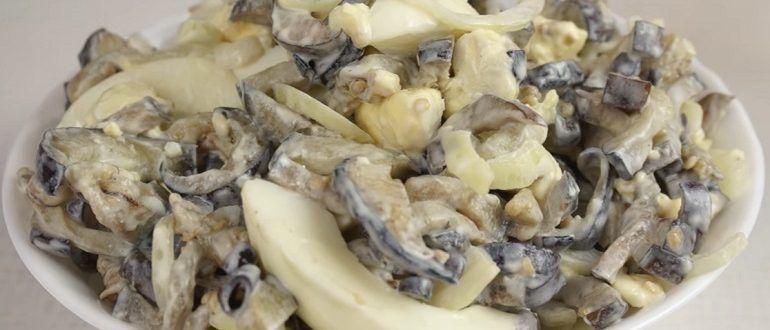 баклажаны со вкусом грибов рецепт