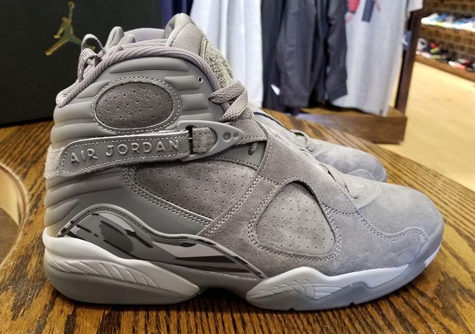 detailed look 0bb22 f0c20 ... inexpensive the air jordan 8 cool grey arrives later this month 5253a  68942 ...