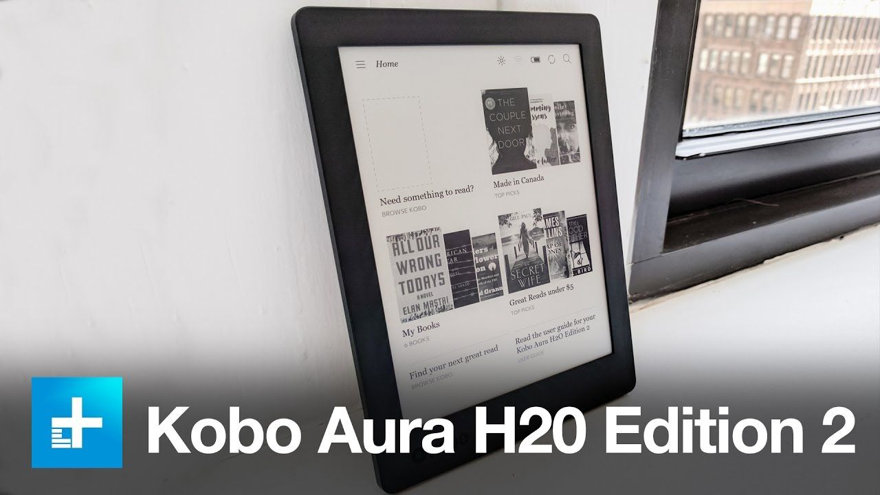 Kobo Aura H2o Edition 2 Hands On Review