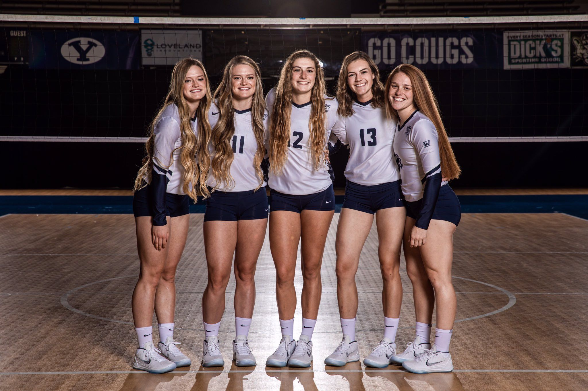 Women S Volleyball Byu Women Volleyball Volleyball Workouts Volleyball Team Pictures