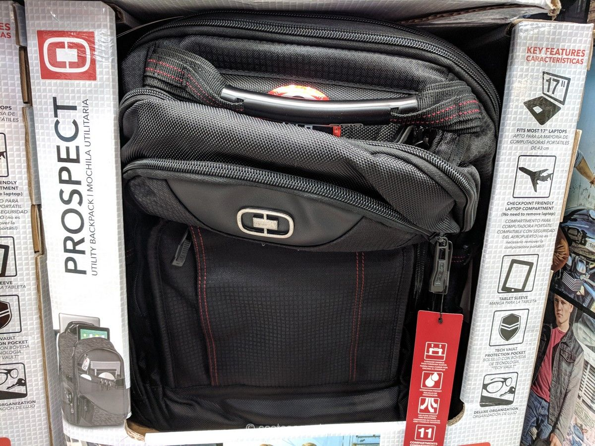 caf24ab1230 Ogio Prospect Pro Backpack Costco